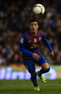 Alexis Sanchez - that's my pick of the Barca side!