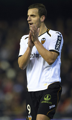 Roberto Soldado - Top goalscorer for Valencia