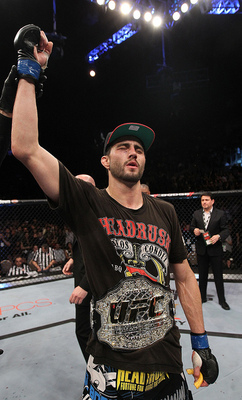Carlos Condit, Photo by Nick Laham/Zuffa LLC/Zuffa LLC via Getty Images.