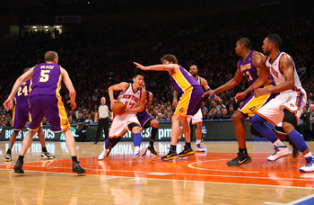 Lin came up huge against the LA Lakers