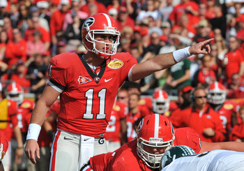 Aaron Murray will be flanked by several returning Dawgs.