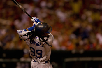 The Dodgers are still playing Manny Ramirez $8 million this season.