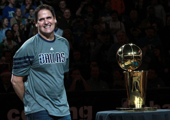 Cuban's lavish spending and unconventional ways finally landed him the Mavs first championship last year.
