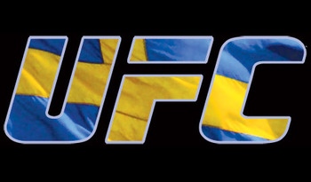 The UFC makes it's debut in Sweden this year