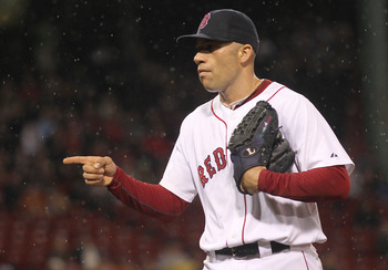 Alfredo Aceves was one of the Red Sox' most dependable pitchers in 2011