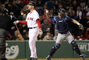 This season, Red Sox fans will not miss seeing JD Drew take another called third strike