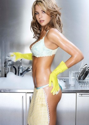 If this is how she dresses to do the dishes...