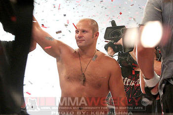Fedor Emelianenko/ Ken Pishna for MMAWeekly.com