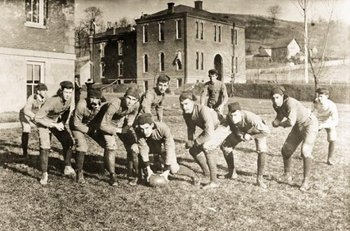 Old school Mountaineers.