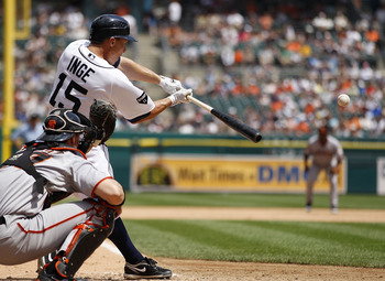 Brandon Inge is hoping hoping to make the move from third to second in 2012
