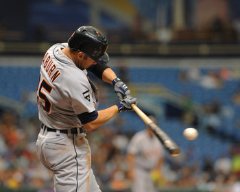 Ryan Raburn has seen his role with the Tigers increase over the past few seasons