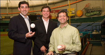 Matthew Silverman, Andrew Friedman and Stuart Sternberg