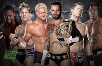 Raw Elimination Chamber Match