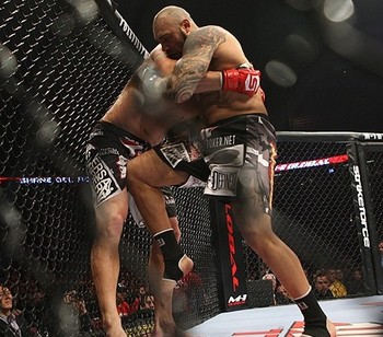 Johnson (right)/ Dave Mandel for Sherdog.com