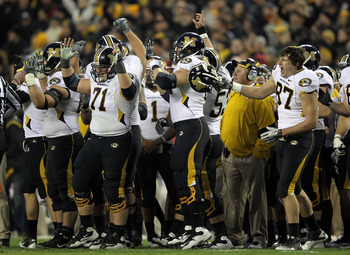 Missouri has been on the upswing under Gary Pinkel, but they are not a traditional winner.