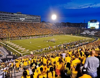 Faurot Field at Memorial Stadium in Columbia is not a great stadium in SEC terms.