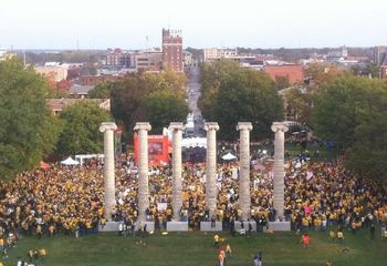 An ESPN College Gameday record crowd showed up for Homecoming 2010.