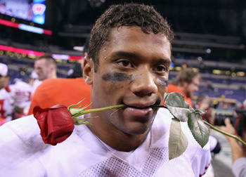 Russell Wilson Big Ten Champ
