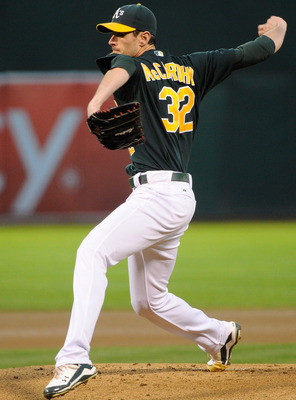McCarthy will start the year as No. 1 for the A's.