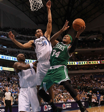 Wright's given the Mavs an intimidating shot blocker.