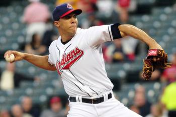 Ubaldo Jimenez was traded to Cleveland in the middle of 2011