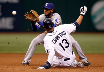 With Tampa, Crawford was a terror at the plate and on the basepaths.