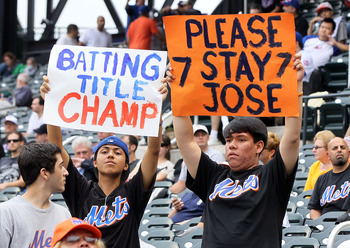Pleas from Mets fans for Jose Reyes to stay in town proved ineffective when he signed with the Marlins Dec. 6th
