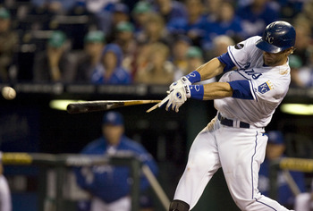 Alex Gordon shows his potential at the plate against the White Sox