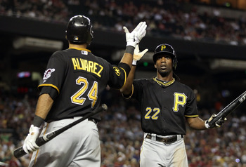 Andrew McCutchen is one of a handful of promising players in Pittsburgh