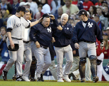 Don Zimmer charging Pedro Martinez is perhaps the most lasting memory of this rivalry.