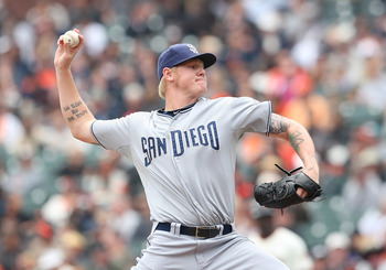 Pitcher Matt Latos ERA over the last two seasons is just 3.20
