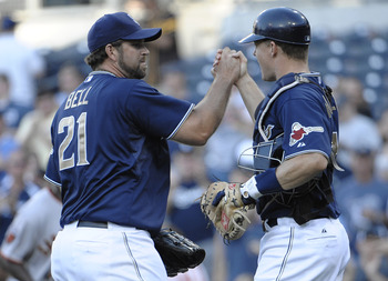 Heath Bell has closed out 132 games in the last 3 years with the Padres.