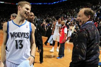 For the first time in nine years, the Timberwolves have a lot to smile about.