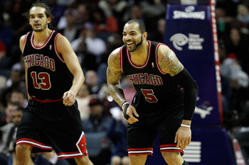 Boozer and Noah have kept the Bulls more than afloat at home and on the road through Derrick Rose's injury issues.