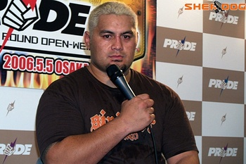 Mark Hunt/ Masa Fukui for Sherdog.com
