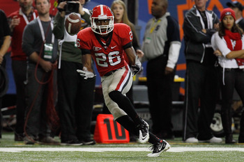 Wide receiver Malcolm Mitchell will return in 2012