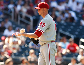 Former Phillies pitcher Ryan Madson brings closer stuff and championship experience.