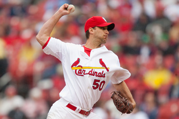 Adam Wainwright will add to what is looking like a potentially dangerous Cardinals rotation.