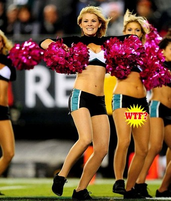 in september of 2010 the philadelphia eagles cheerleader squad took