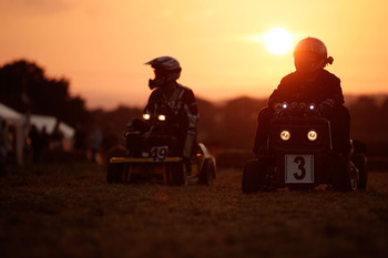 You'll see some odd events up for picking, like endurance lawn mower racing for example.