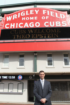 Ex-Red Sox GM Theo Epstein has a familiar challenge ahead.