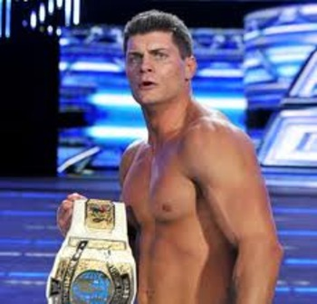 Intercontinental Champion Cody Rhodes