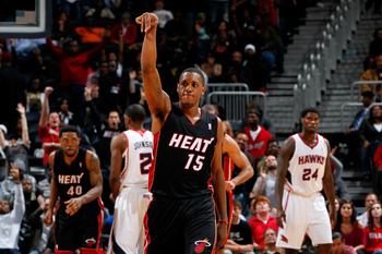 Mario Chalmers will look to keep the Heat's success in the 3-point shootout going.