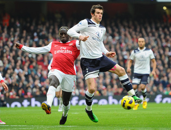 Sagna will seek to overcome Bale.