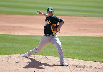 Jarrod Parker was a big part of why Oakland dealt Trevor Cahill.