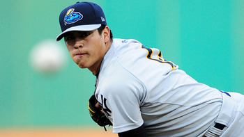 Manny Banuelos could help the Yankees later this year if needed.