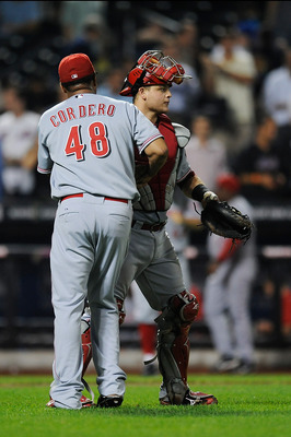 Devin Mesoraco will start at catcher for the Reds this year.