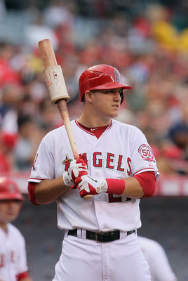 Mike Trout could be a star as a leadoff or third-place hitter.