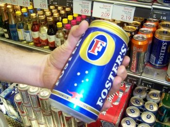 Image result for fosters oil can