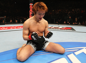 Takanori Gomi. Photo by Al Bello/Zuffa LLC/Zuffa LLC via Getty Images